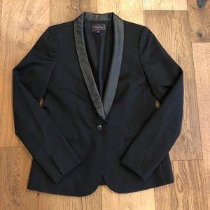 Madewell Leather Collar Blazer